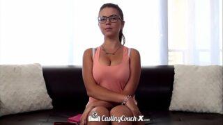 CASTINGCOUCH-X Big breasted Marina Visconti anal fucks casting agent