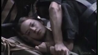 Emily Blunt gang-forced in Warrior Queen