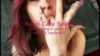 Kayci Kitten 2 Year Celebration Cake Splosh